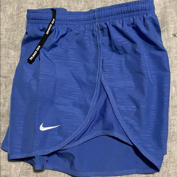Nike Pants - Nike Dri Fit running short blue Small like new